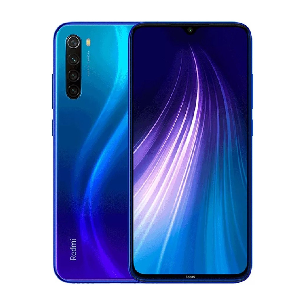 Смартфон Xiaomi Redmi Note 8 4/128GB Blue (Синий) Global Version