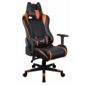Кресло для геймера Aerocool AC120 AIR-BO черно-оранжевое