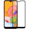 Защитное стекло для Samsung Galaxy A01 Full Screen черный, Redline