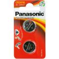 Батарейки Panasonic CR-2016EL/2B дисковые литиевые Lithium Power в блистере 2шт