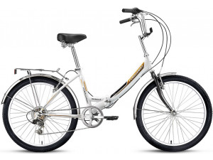 "Велосипед 24"" Forward Valencia 2.0 6 ск 17-18 г 16' Белый"