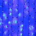 "Световая декорация Sh Lights ""Занавес"", 380 синих светодиодов, 20 нитей, последоват. подключ. до 4шт., WP-CL380-TB-E"
