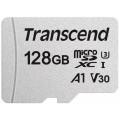 Карта памяти Transcend microSDXC 300S Class 10 UHS-I U3 (95/45MB/s) 128GB