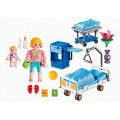 Playmobil Конструктор Детская клиника: Комната матери и ребенка