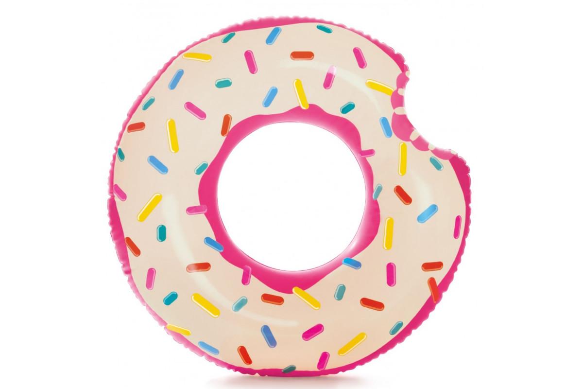 Надувной круг Intex Пончик 107х99см 59265