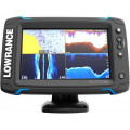 Эхолот-картплоттер Lowrance Elite-7Ti Mid/High/TotalScan