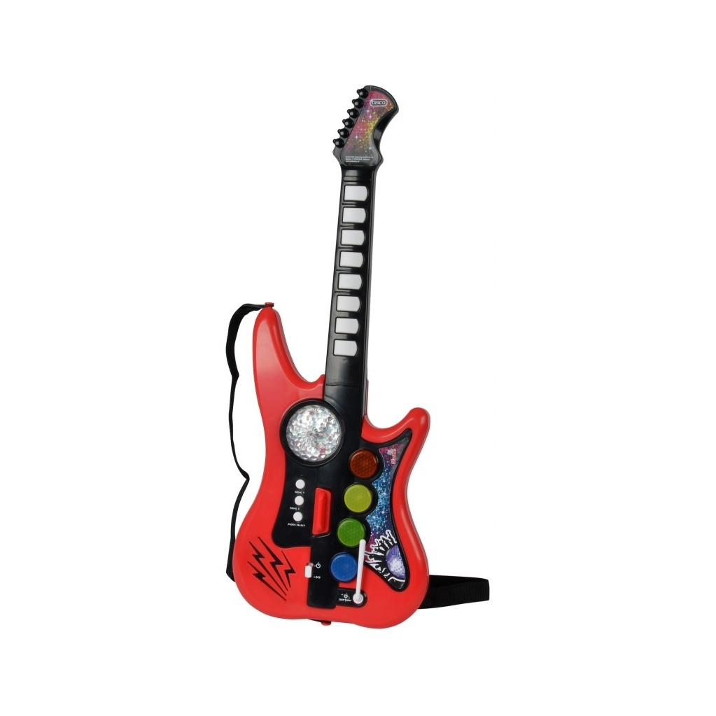 Simba Гитара с эффектом диско-шара, 66см.