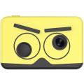 Цифровая камера детская 8MP 2,0- дюймовый IPS- экран, желтый