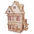 Кукольный домик PAREMO серия Я дизайнер Дом принцессы, конструктор