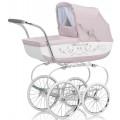 Inglesina Classica - коляска-люлька для новорожденных на шасси Balestrino Chrome/Ivory  премиального класса