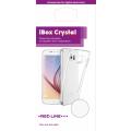 Чехол для смартфона Samsung Galaxy A8 (2018) Silicone iBox Crystal (прозрачный), Redline