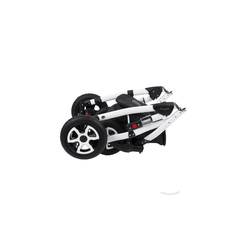 Adamex Barletta - коляска 3 в 1 Delux 675K коричнево-бежевая