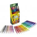 Crayola Ароматизированные выкручивающиеся мини-восковые мелки, 24 шт.