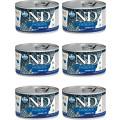 Консервы для собак мелких пород Farmina N&D OCEAN MINI, лосось с треской, 140г*6шт.