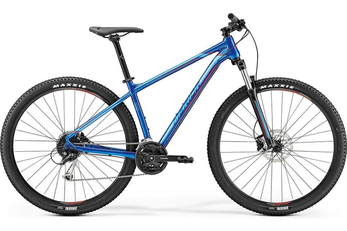 "Велосипед Merida Big Nine 100 Glossy Blue(Red) 2019 M(17"")(79645)"