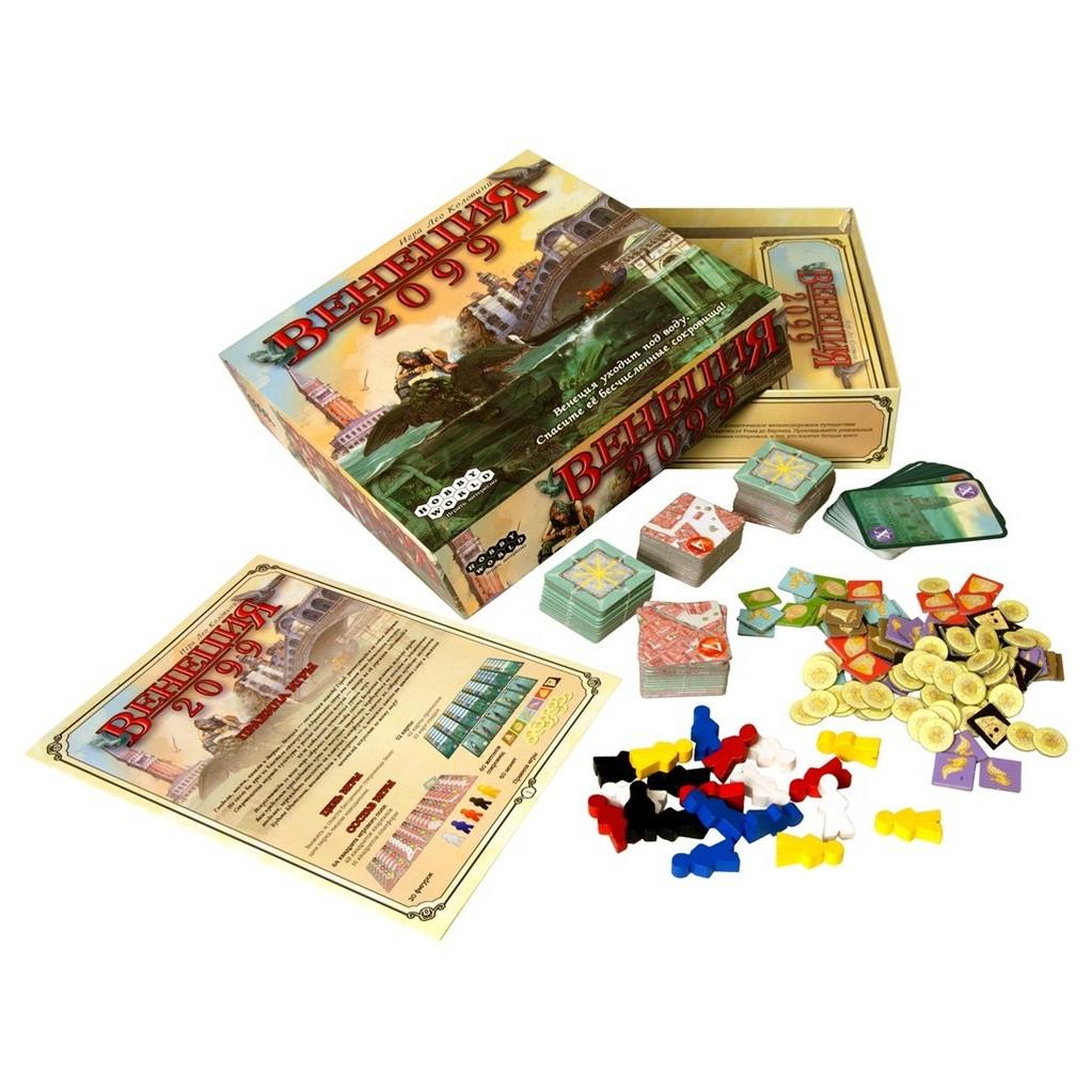 Настольная игра Hobby World Венеция 2099