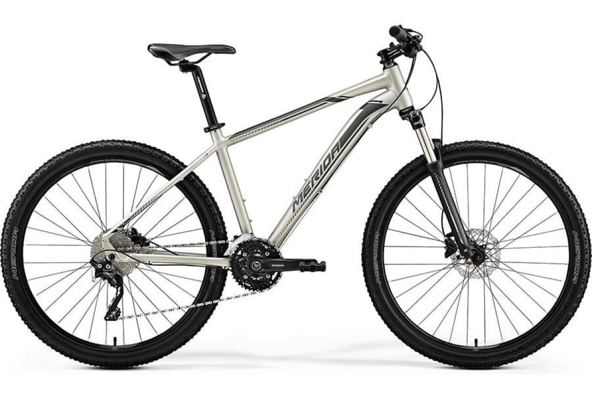 "Велосипед Merida Big Seven 80-D MattTitan/Black (Silver) 2019 L(19"")(80921)"