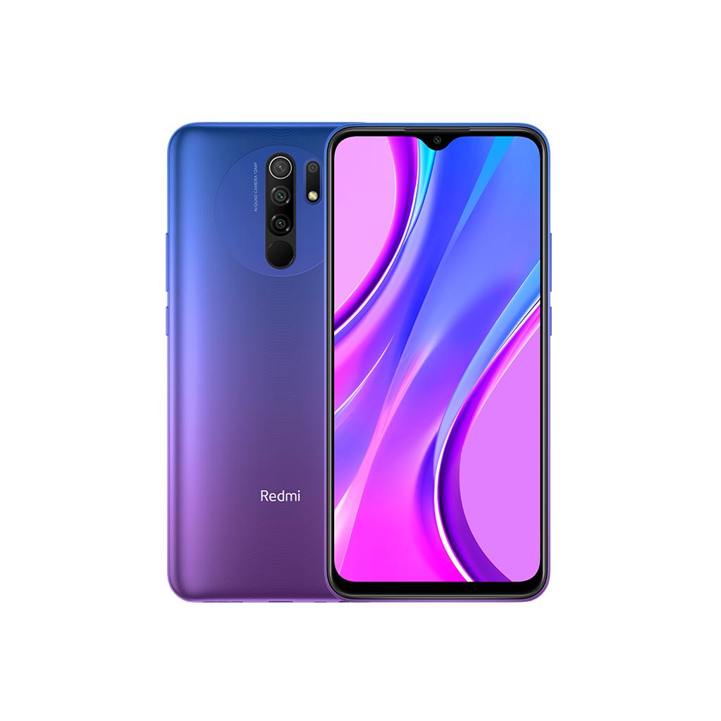 Смартфон Xiaomi RedMi 9 4/64Gb (NFC) Фиолетовый Global Version