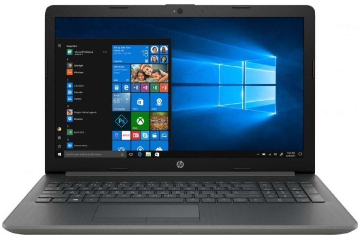 "Ноутбук HP 15-da0099ur <4JY92EA> i3-7020U (2.3)/8Gb/1Tb/15.6""HD AG/NV GeForce MX110 2GB/No ODD/Cam HD/Win10 (серый)"