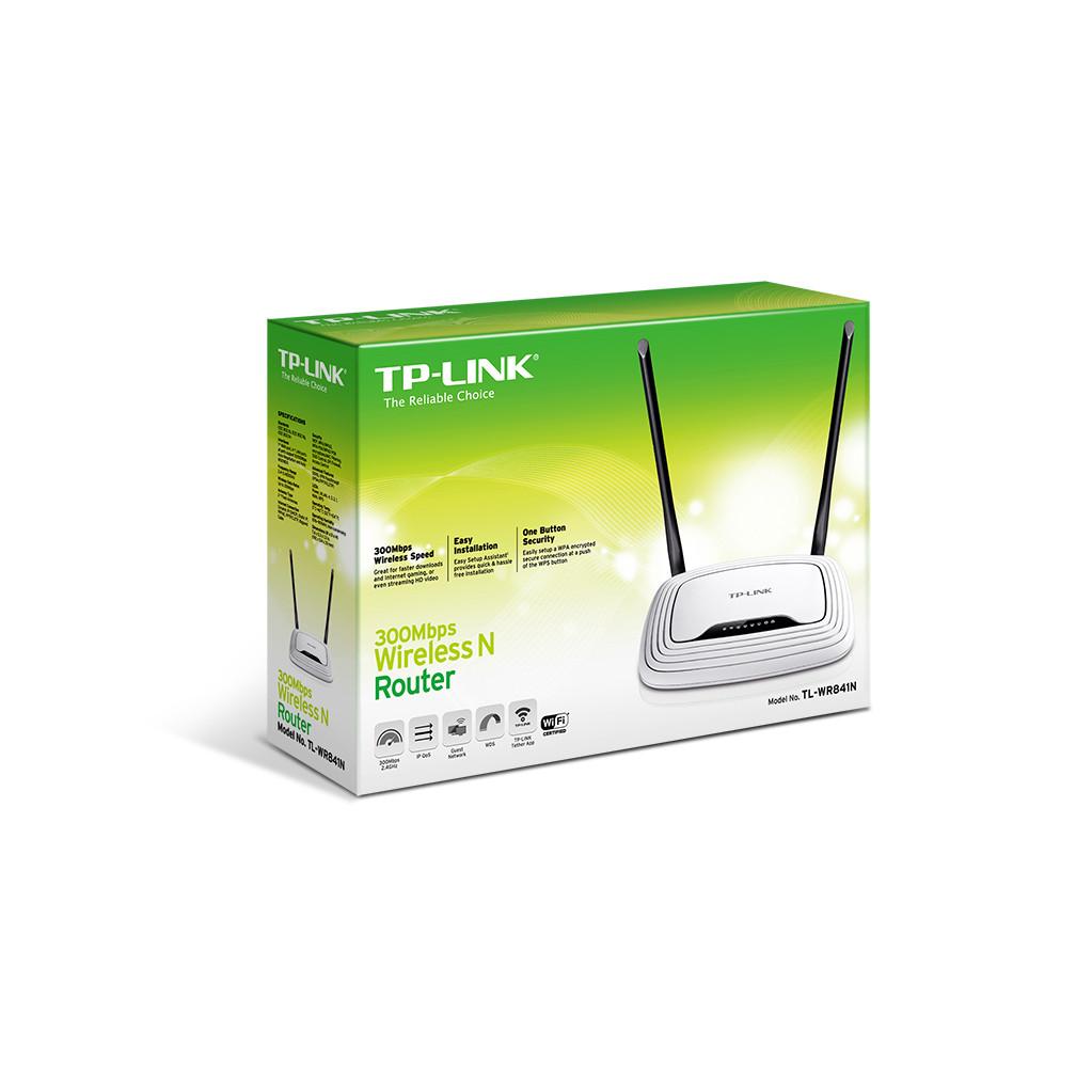 Маршрутизатор TP-Link TL-WR841N 10/100BASE-TX