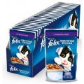 Консервы для кошек Felix, кусочки в желе с ягненком, 85г*24 шт.