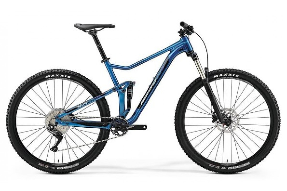 "Велосипед Merida One-Twenty 9.400 Blue (Black) 2019 XL(22"")(89328)"