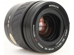 Minolta AF ZOOM 35-80mm f/4-5.6 Power Zoom K6481