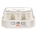 Йогуртница Tefal YG500132 30Вт 8б.x125мл упр.:механич. белый
