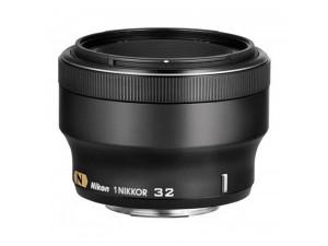 Объектив Nikon 1 32mm f/1.2 черный
