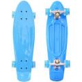 "RT Classic 22"" YQHJ-11 - детский скейтборд со светящимися колесами голубой"