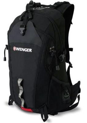 Рюкзак Wenger 30582215 серый/черный, полиэстер, 29х19х52 см, 28 л