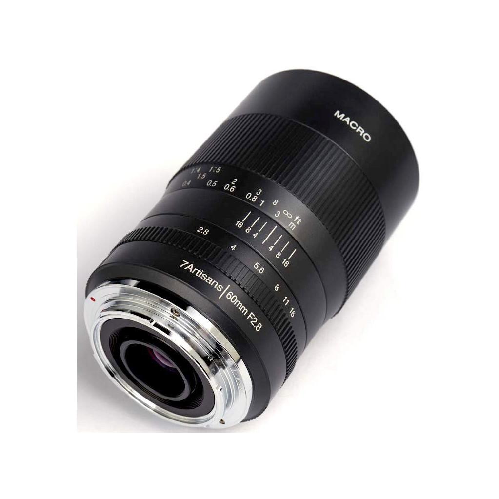 Объeктив 7Artisans 60mm F2.8 для Fujifilm X макро
