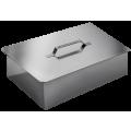 Технолит Коптильня двухъярусная с поддоном для сбора жира 480х280х170 нержавеющая сталь