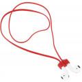 Ремешок для наушников Apple AirPods, магнитный, красный