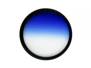 Фильтр градиентный Fujimi 72mm (голубой)