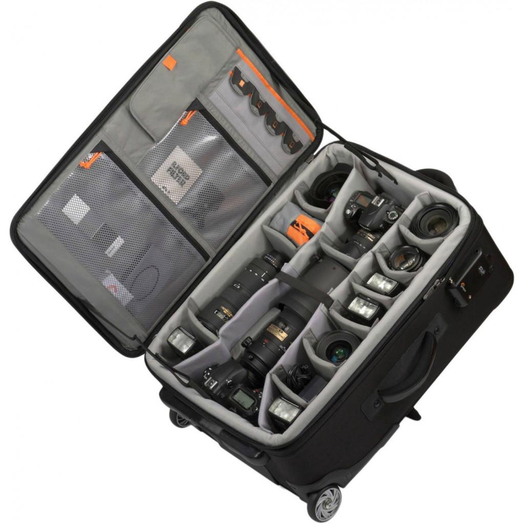 Сумка для фотокамеры Lowepro Pro Roller x100 AW Black на колёсиках