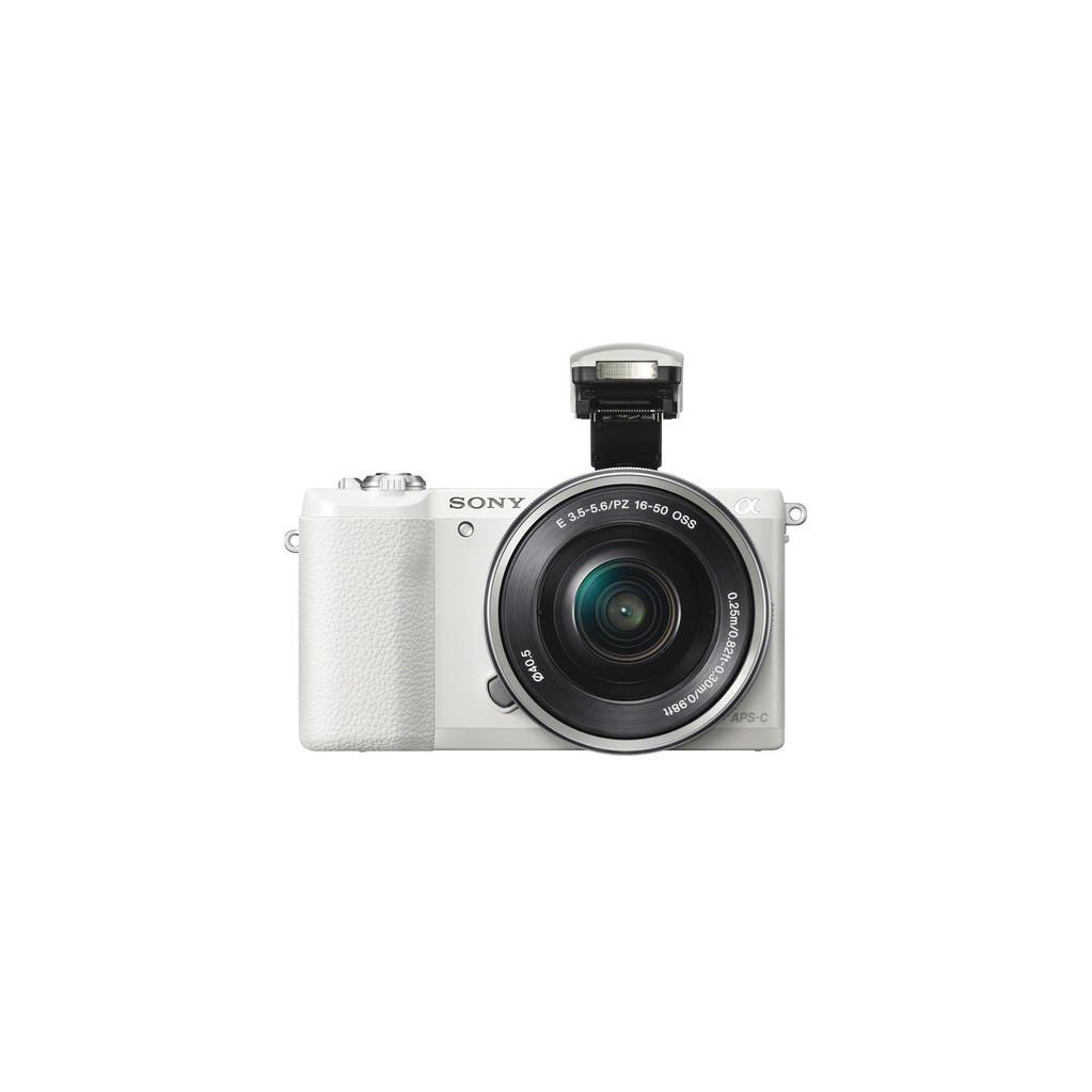 Фотоаппарат Sony Alpha A5100 Kit 16-50 f/3.5-5.6 OSS белый (