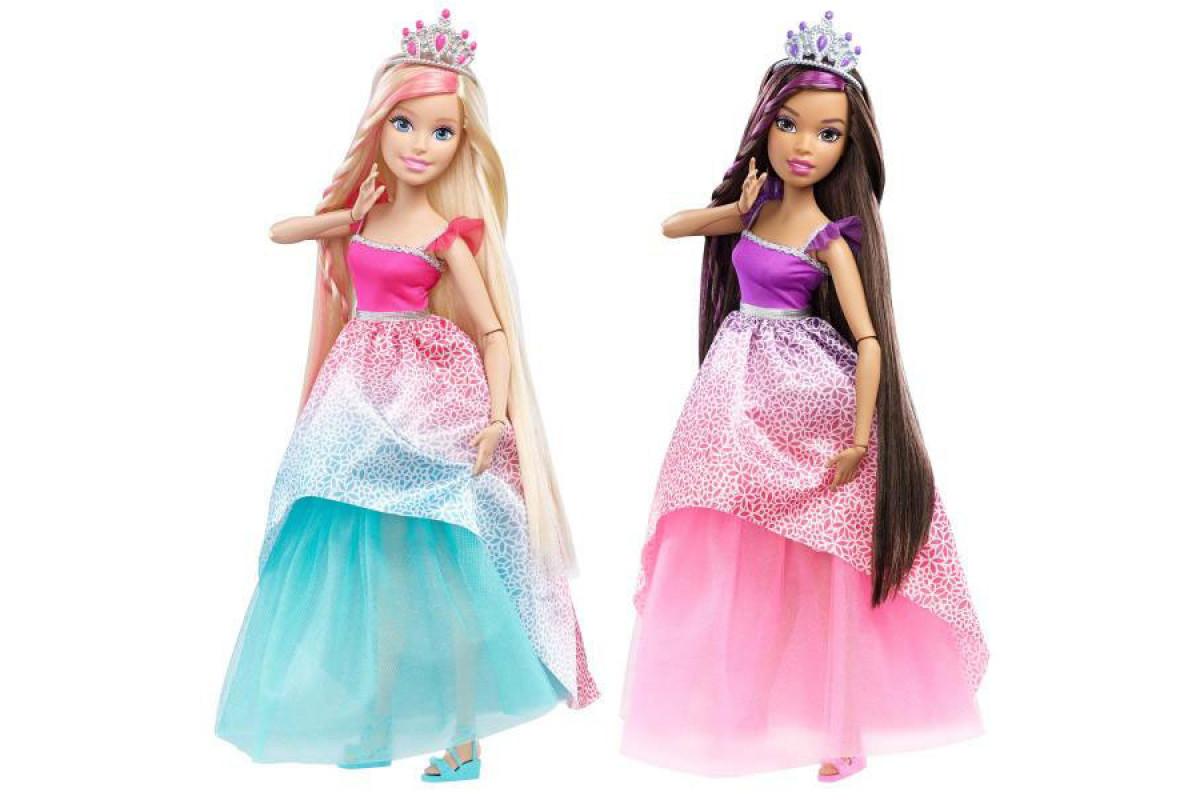 Barbie Большие куклы с длинными волосами Mattel DRJ31