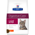 Корм для кошек при проблемах с ЖКТ Hill's Prescription Diet I/D, курица, 1,5 кг