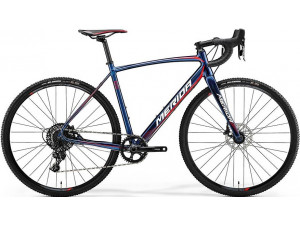 Велосипед Merida CycloCross 600 Shiny Dark Starry Blue (Red/White) 2018 S(50см)(18477)