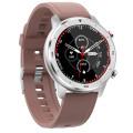 Умные часы Dt №1 DT78, силиконовый ремешок, коричневый