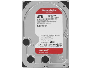 """Жесткий диск WESTERN DIGITAL SATA 3.5"""" 4TB 6GB/S 256MB RED WD40EFAX купить в интернет-магазине Фотосклад.ру, цена, отзывы, видео обзоры"""