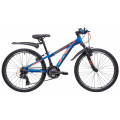 "Велосипед Novatrack 24"" Extreme 11"", синий, 24AHV.EXTREME.11BL9"