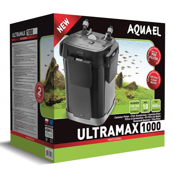 Внешний фильтр AQUAEL ULTRAMAX 1000, 1000 л/ч., (100-300 л.)