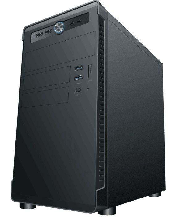 Офисный компьютер Prolike O001 (Intel core i3 9100F/8Gb/256Gb SSD/H310M-R R2.0/nVidia GeForce GT 710 1Gb/400W/без ОС)