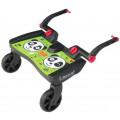 Подножка LASCAL для второго ребенка Buggy Board Maxi Panda City Green 2761