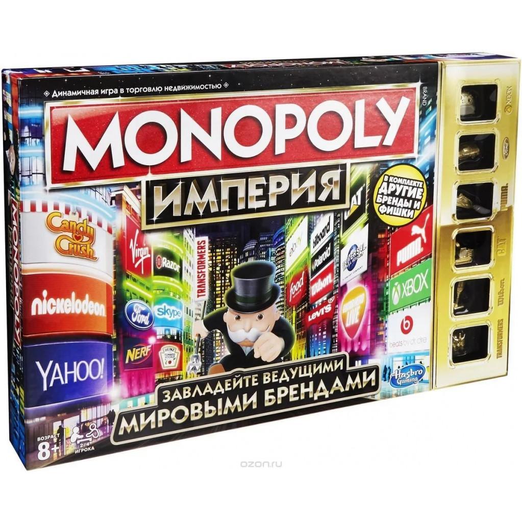 Монополия Империя (обновленная) настольная игра Hasbro
