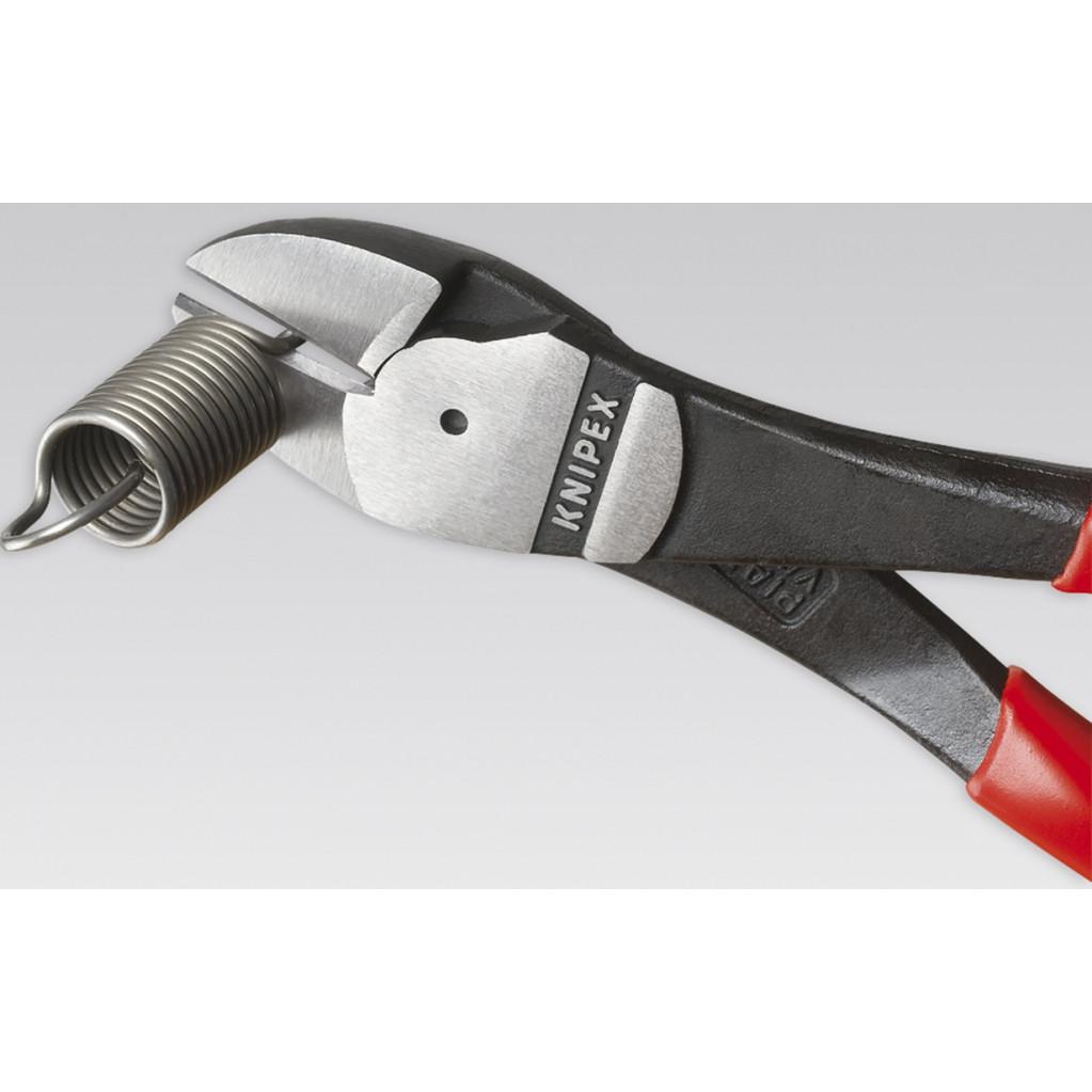 Бокорезы силовые Knipex 7401180  180мм ручки с пластмассовыми чехлами