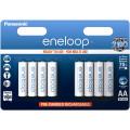 Аккумулятор Panasonic Eneloop AA 1900 mAh (BK-3MCCE/8BE), 8 шт