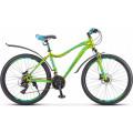 Велосипед Stels Miss-6000 D V010 Жёлтый/Зелёный (LU093825)